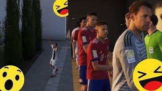 Plac przed domem zamiast boiska w FIFA 19? Co za MOD!