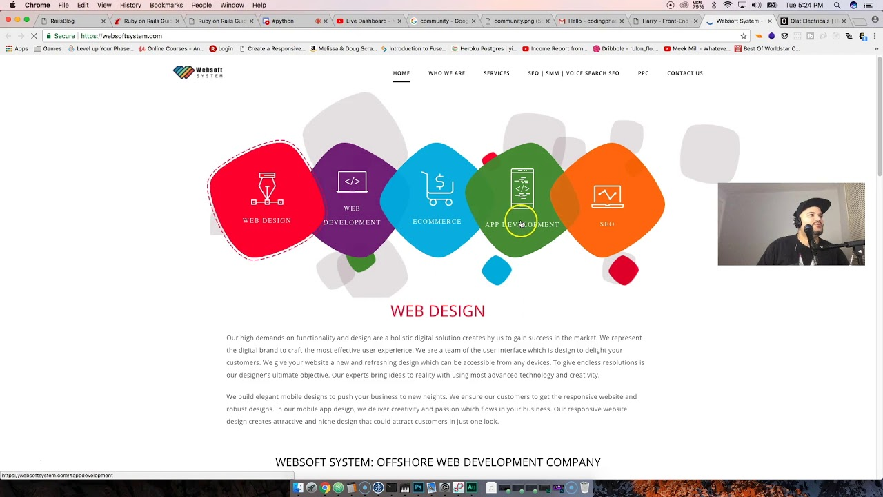 Web Developer Portfolio - Harrison