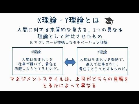 X理論Y理論 - YouTube
