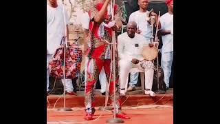 Alayo Melody Singer At Atan Ota for Alh. Durojaiye RTWEAN