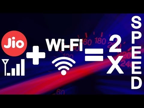 Increase Internet Speed By Using Mobile Data (eg. Jio 4g) And Wifi At The Same Time. [How To]