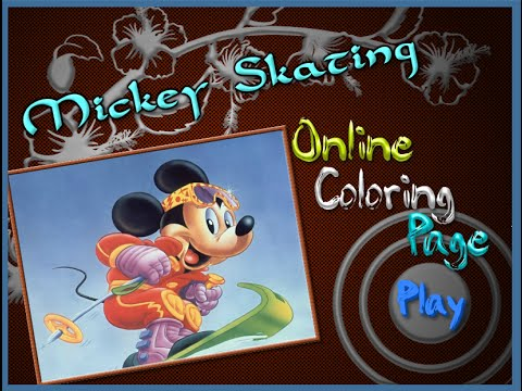 Mickey Mouse Coloring Pages - Mickey Mouse Colouring Pictures Game - YouTube