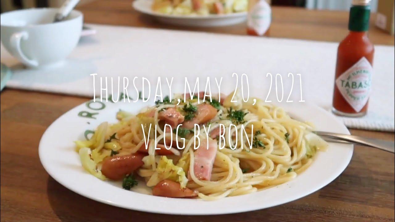 Vlog #97 ホットサンドやパスタを作って食べたり、キッチンの模様替えをした日常❁⃘