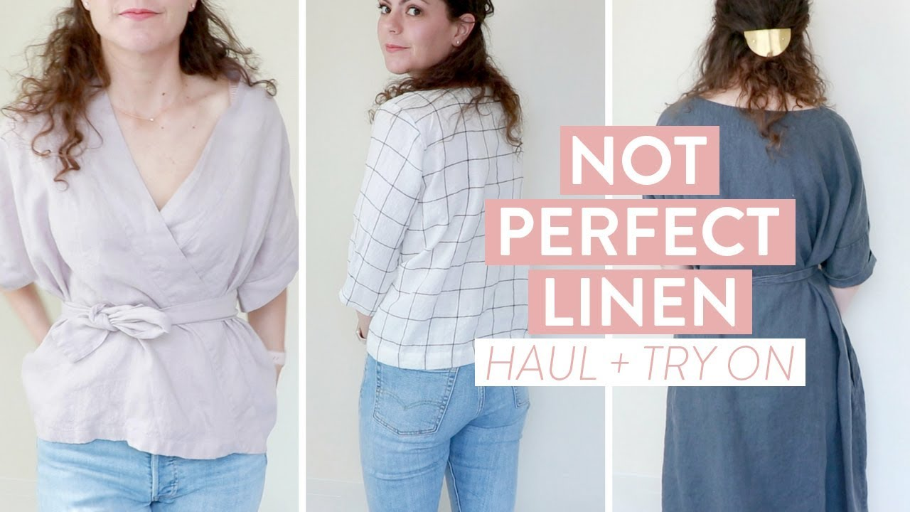 1efcee24c3 Not Perfect Linen HAUL + TRY ON