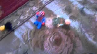 фильм человек паук в лего мире №1 (внезаптный бабах)
