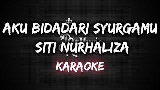 Aku Bidadari Syurgamu - Siti Nurhaliza [Karaoke] By Music