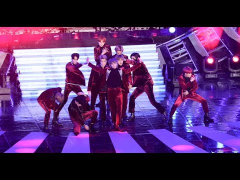 NCT 127 - Cherry Bomb@BBQ-SBS Super Concert 20181014