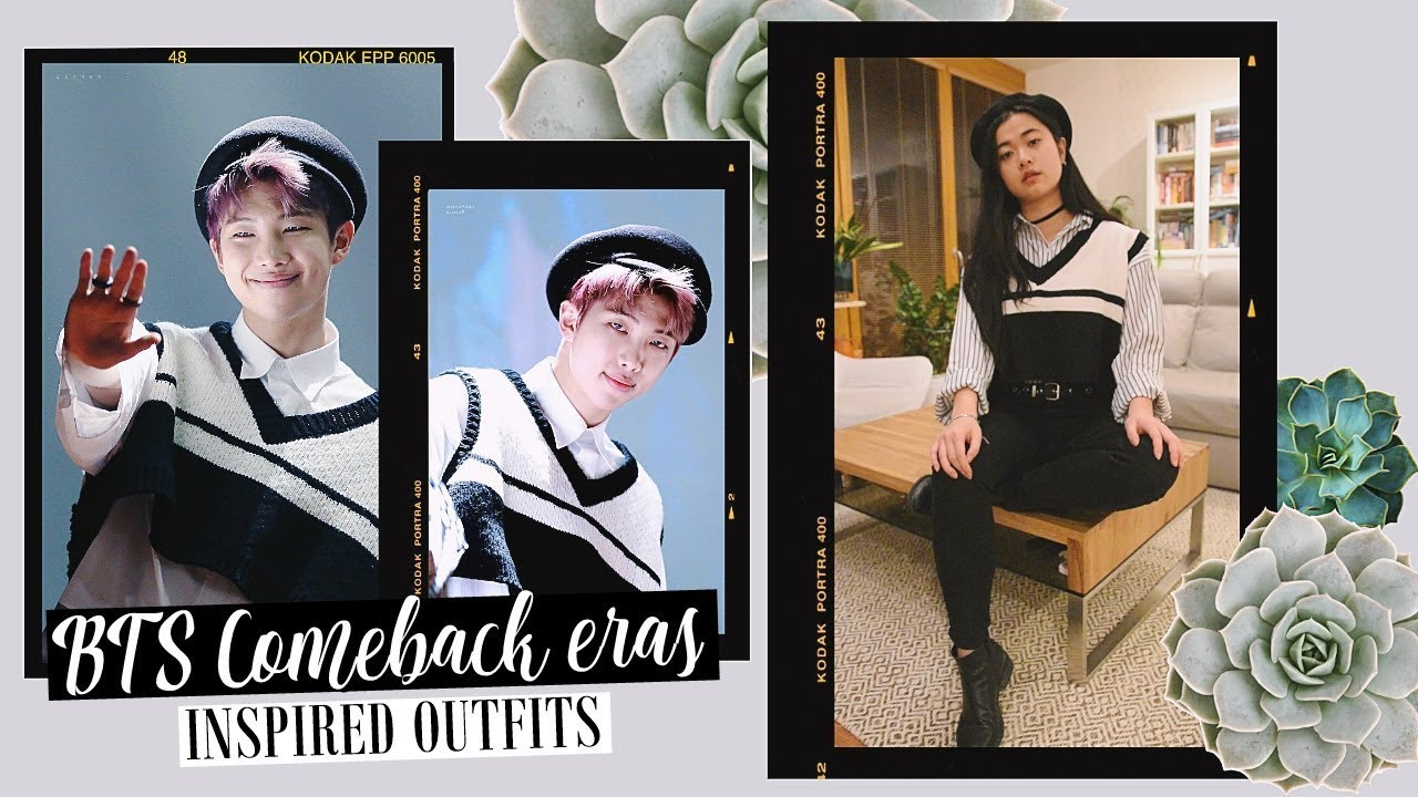 [VIDEO] - Recreating BTS Comeback Era Stage Outfits w/ YesStyle | Spring Day, Fake Love etc. Inspired Lookbook 1