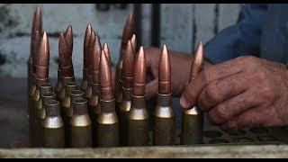 Как делают патроны и военную технику? Военные ништяки