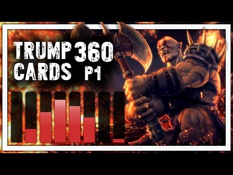 Hearthstone: Trump Cards - 360 - 1 Man 4 Weapons - Part 1 (Warrior Arena)