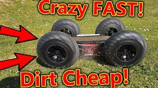 The fastest CHEAP RC Car I've ever seen!