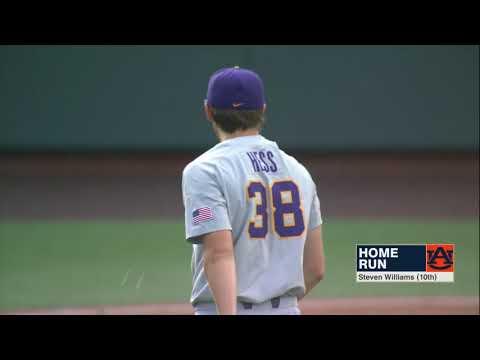 Auburn Baseball vs LSU Game 1 Highlights