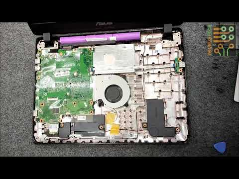 Asus X507U Notebook M.2 SSD Upgrade And Disassembly