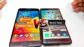 Moto E4 Plus vs Redmi Note 4 - Speed Test & Comparison