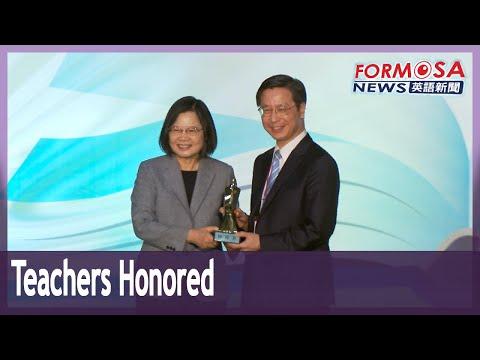 President, premier confer National Excellent Teacher Awards