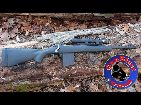 Shooting The Ruger 308 Gunsite Scout Rifle With Polymer Composite Stock - Gunblast.com