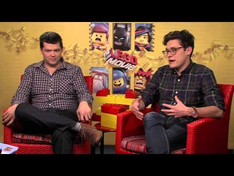 The Lego Movie: Phil Lord & Christopher Miller Exclusive Interviews Mp3