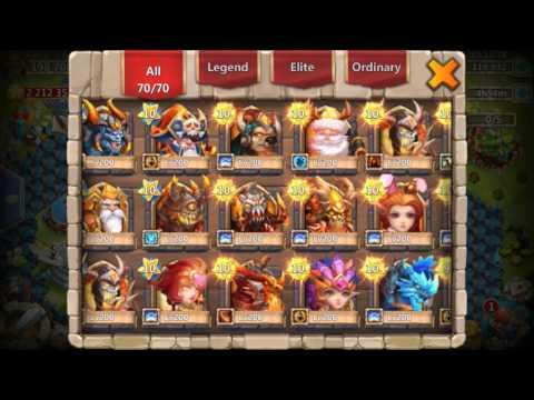 Rolling 120,000+ Gems INSANE 200 Talent ROLL BONUS Castle Clash