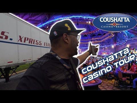 Coushatta Casino Tour!!!