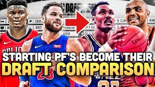 What If Every NBA Power Forward Became Their Draft Day Comparison