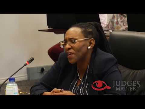 JSC interview of Acting President Maya for the Supreme Court of Appeal President