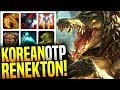 Korean OTP Renekton with +4000 Games as Renek! - Korean Master OTP Renekton Main! | Be Challenger