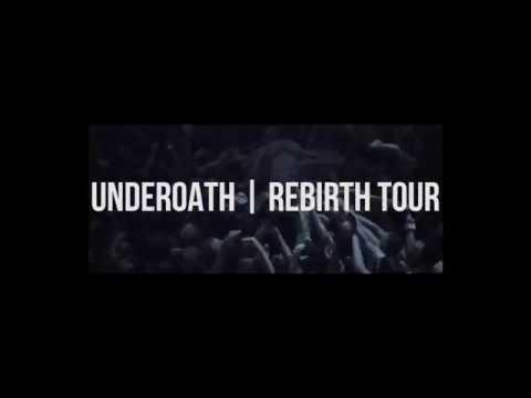 Underoath Rebirth Tour 2017