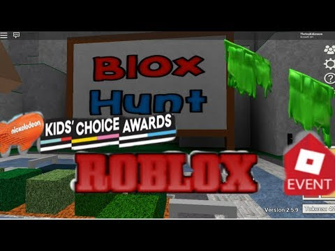 Blox Hunt Event Roblox  Free Slime Shoulder Pads Nickelodeon kids choice awards 2018