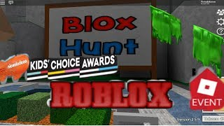 Blox Hunt Event Roblox How to Get Free Slime Shoulder Pads Nickelodeon kids choice awards 2018