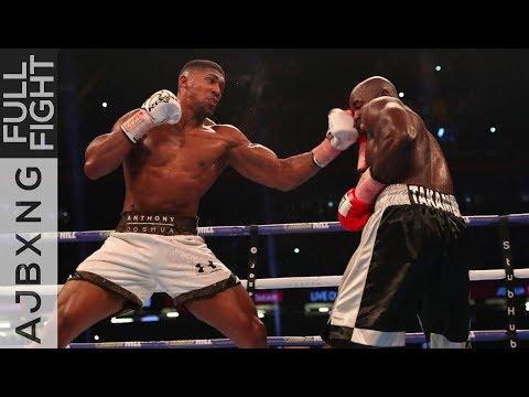 Full Fight   Anthony Joshua Vs Carlos Takam TKO