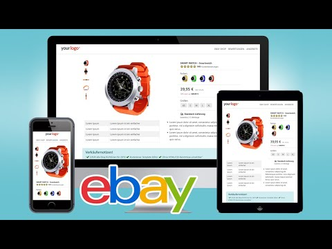 Free EBay Listing Template HTML Mobile Responsive Design 2019 Ebay Vorlage