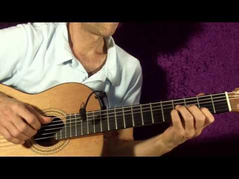 samba rythm for Guitar -Partido Alto1