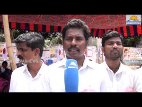 The young lawyer, on behalf of the forum demonstrated in Chennai