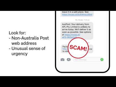Scam Alerts Australia Post