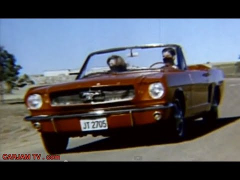 Ford Mustang 1965 HD Full Original Promo In Detail Classic Funny Commercial - 2014 Carjam TV