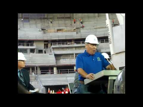Amway Center Topping Off Ceremony