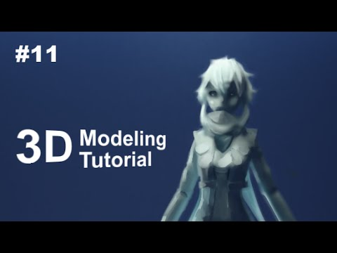 part 11 40 anime character 3d modeling tutorial ii