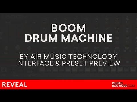 Boom VST/AU/Plugin   Air Music   Classic Analogue Drum Machine Presets   808 909 CR78 606