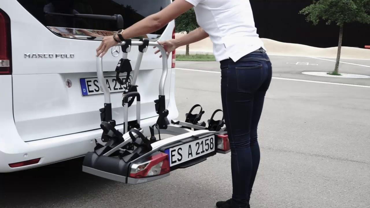 atera strada fahrradtr ger montage der auf der anh ngerkupplungby g hrum fahrzeugteile gmbh. Black Bedroom Furniture Sets. Home Design Ideas