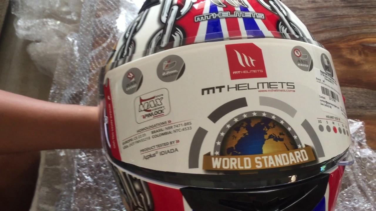 Mt Helmet Mugello Series Unboxing Youtube