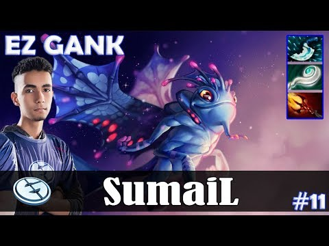 SumaiL - Puck Roaming | EZ GANK | Dota 2 Pro MMR Gameplay #11
