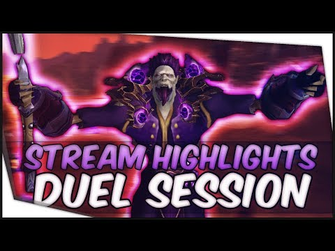 BFA Shadow Priest PvP - Dueling Session (STREAM HIGHLIGHTS #1)