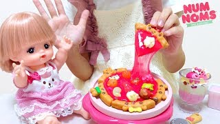 Mell-chan Doll with Num Noms Snackables Pizza Kit