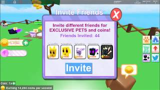 New Game to Roblox Pet Ranch Simulator in How to rich invite your friend