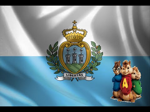 Chain of Lights (Michele & Anita) - Eurosong2015 (San Marino) - Alvin and the chipmunks + Lyrics