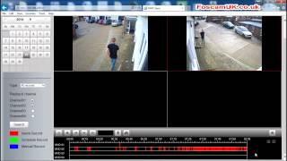 Foscam FN3104H 4CH NVR (Network Video Recorder) Live Demo by Foscam UK