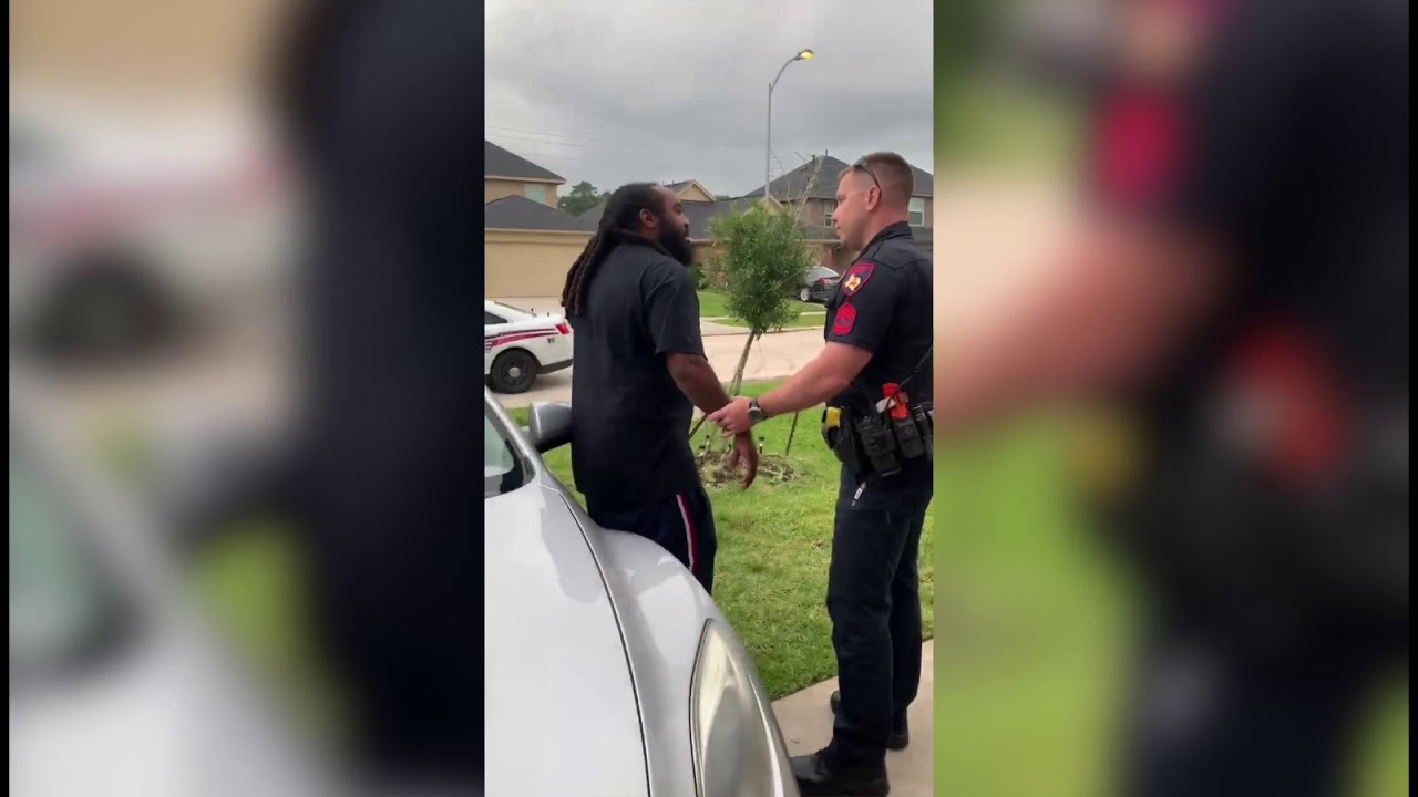 Texas Cop Tries to Arrest Wrong Man on Out-of-State Warrant in his Front Yard