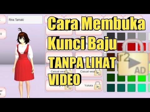 Cara buka kunci baju dengan gratis - Sakura school simulator