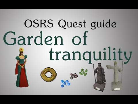 [OSRS] Garden of tranquility quest guide