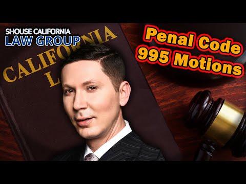 """Can """"995 Motions"""" get your case dismissed? (Former DA explains)"""